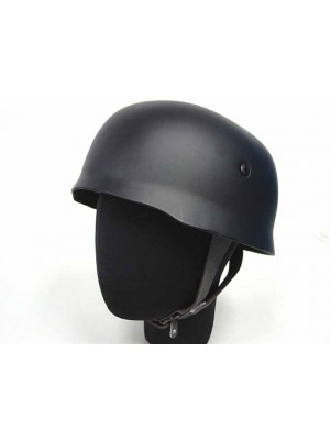 WWII WW2 German Paratrooper Fallschirmjager M38 Helmet Black