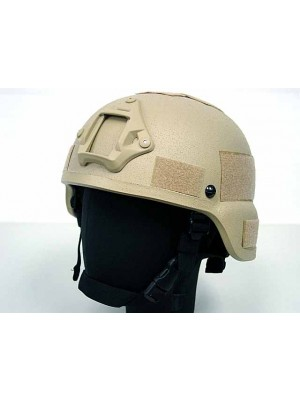 MICH TC-2000 ACH Replica Helmet with NVG Mount Tan