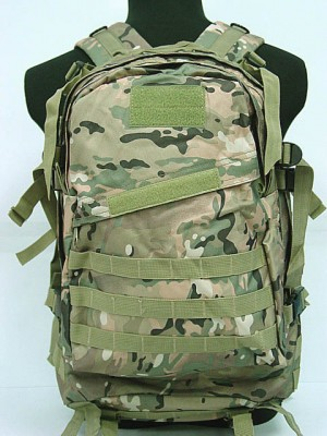 3-Day Molle Assault Backpack Multi Camo