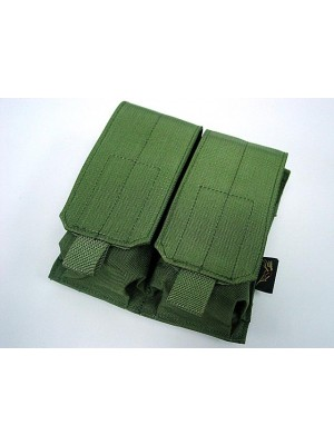 Flyye 1000D Molle Double M4/M16 Magazine Pouch OD