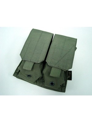 Flyye 1000D Molle Double M4/M16 Magazine Pouch Ranger Green