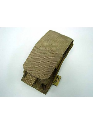 Flyye 1000D Molle Single M4/M16 Magazine Pouch Coyote Brown