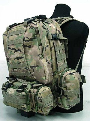 CamelPack Tactical Molle Assault Backpack Multi Camo