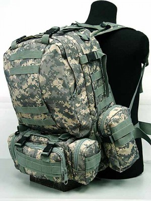 CamelPack Tactical Molle Assault Backpack Digital ACU Camo