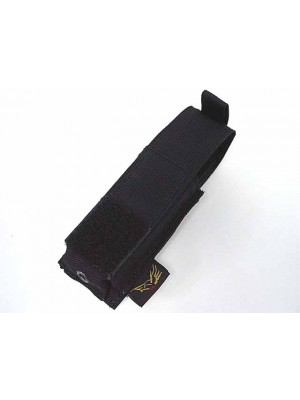 Flyye 1000D Molle Single .45 Pistol Magazine Pouch Black