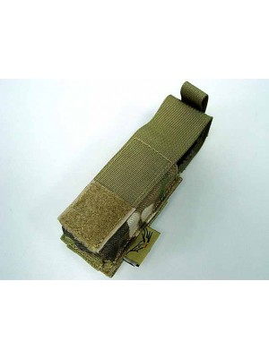 Flyye 1000D Molle Single .45 Pistol Magazine Pouch Multicam