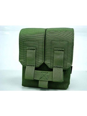 Flyye 1000D Molle M249 200rds Ammo Magazine Pouch OD