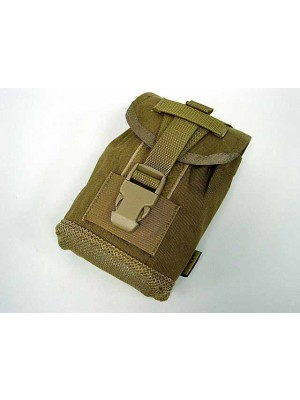 Flyye 1000D Molle 1Qt Canteen Utility Pouch Coyote Brown