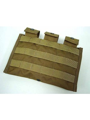 Flyye 1000D Molle Triple M4/M16 Mag Pouch Ver.MI Coyote Brown