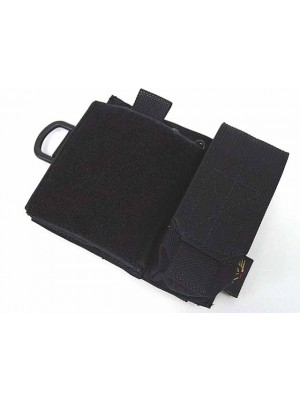 Flyye 1000D Molle SAF Admin Panel Map Pouch Black