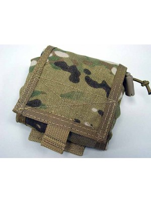 Flyye 1000D Molle Folding Magazine Drop Pouch Bag Multicam