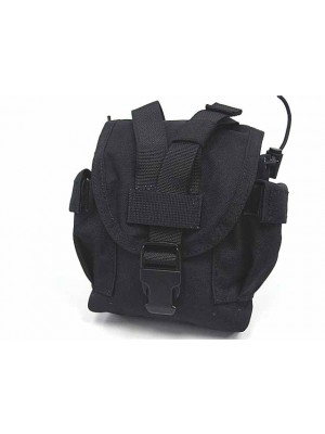 Flyye 1000D Molle Canteen Utility Pouch Ver.FE Black
