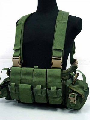 Flyye 1000D Tactical LBT 1961A Band Chest Rig Vest OD