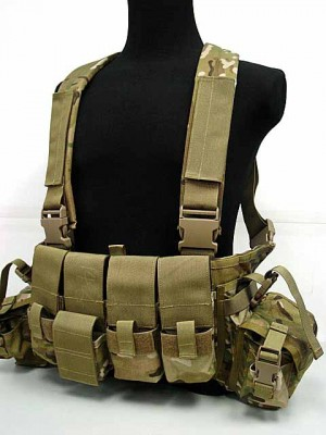 Flyye 1000D Tactical LBT 1961A Band Chest Rig Vest Multicam