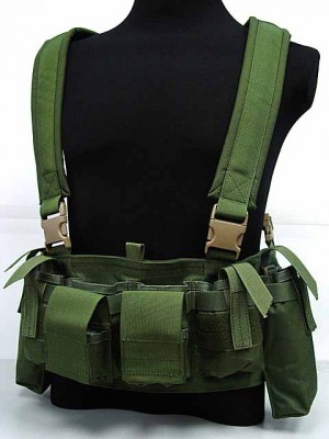 Flyye 1000D Tactical LBT M4 Magazine Chest Rig Vest OD