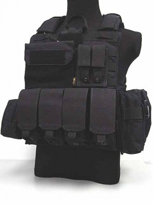 Flyye 1000D Molle Force Recon CIRAS Vest Ver. MAR Black