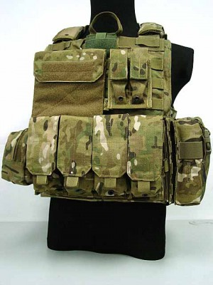 Flyye 1000D Molle Force Recon CIRAS Vest Ver. MAR Multicam