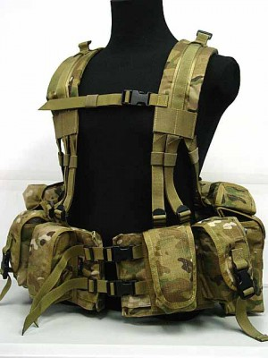 Flyye 1000D 1195J SEALs Floating Harness Chest Rig Multicam