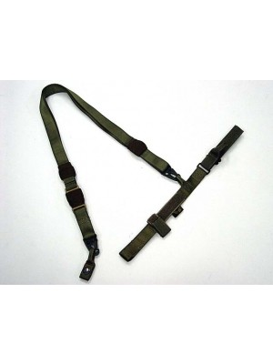 Flyye 1000D Airsoft 3-Point QD Rifle Sling Ranger Green