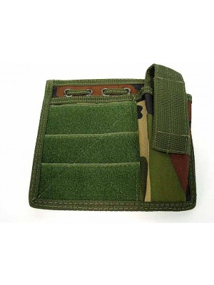 Molle MOD Map Torch Admin Pouch Camo Woodland