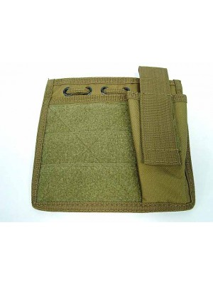 Molle MOD Map Torch Admin Pouch Coyote Brown