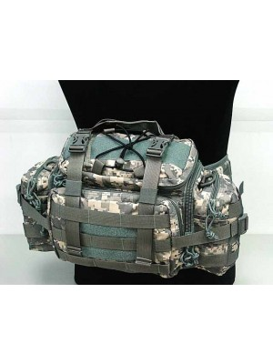 Molle Utility Gear Assault Waist Pouch Bag Digital ACU Camo