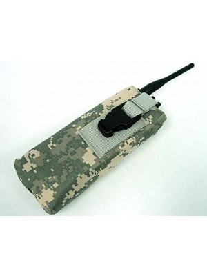 Molle Large Radio/Walkie Talkie Pouch Digital ACU Camo