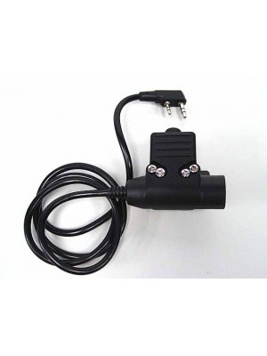 Element U94 Headset PTT for Kenwood 2 Pin Radio - Z113
