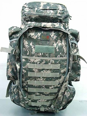 9.11 Tactical Full Gear Rifle Combo Backpack Digital ACU Camo