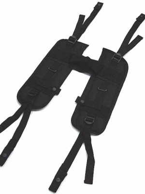 USMC USGI Load Bearing H Harness Suspender Black