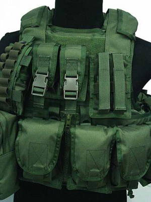 Molle 900D RAV Tactical Carrier Vest with 20 Pouch OD