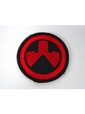 MAGPUL Round Shape Logo Velcro Patch Red
