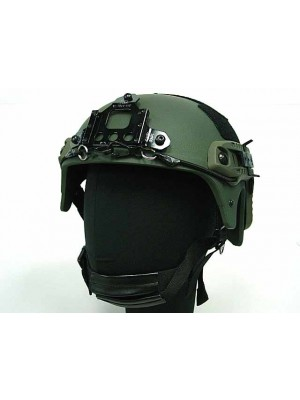 IBH Helmet with NVG Mount & Side Rail OD