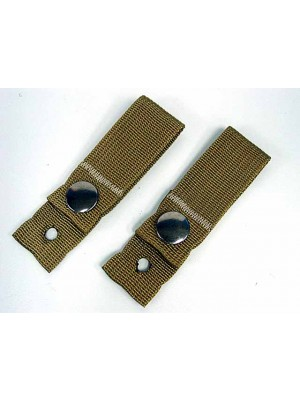 Tactical Helmet Universal Goggle Retention Straps Coyote Brown