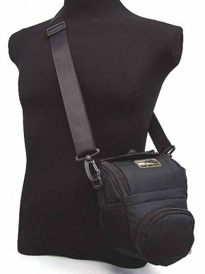 MID DSLR/SLR Camera Case Shoulder Bag Black