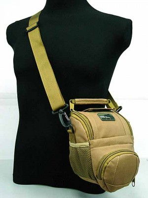 MID DSLR/SLR Camera Case Shoulder Bag Coyote Brown