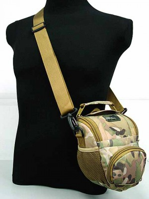 MID DSLR/SLR Camera Case Shoulder Bag Multi Camo