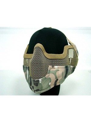 Stalker Type Half Face Metal Mesh Raider Mask Ver. 2 Multi Camo