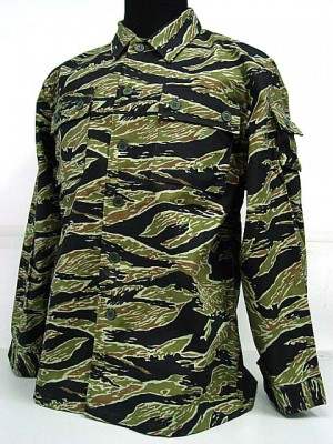 US Army Vietnam War Tiger Stripe Camo BDU Uniform Shirt Pants