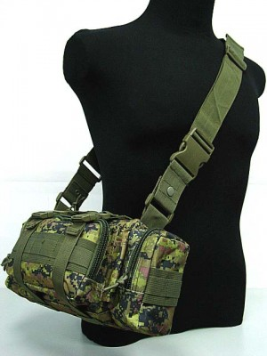 Molle Utility Shoulder Waist Pouch Bag CADPAT Digital Camo