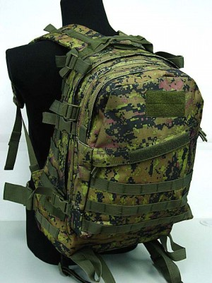 3-Day Molle Assault Backpack CADPAT Digital Woodland Camo