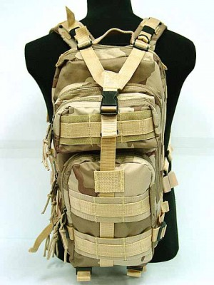Level 3 Molle Assault Backpack Desert Camo