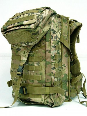 Tactical Molle Rifle Gear Combo Backpack Multi Camo