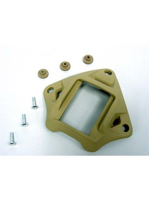 VAS Type Night Vision Goggle Mount Tan for MICH/ACH/PASGT Helmet