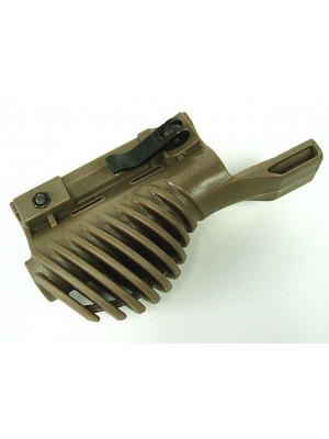 Ergonomic Tactical Flashlight Mount Adaptor Tan