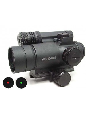 Comp M4 Type Red/Green Dot Sight Scope w/Green Laser & Killflash
