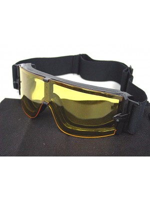 USMC Airsoft X800 Tactical Goggle Glasses GX1000 Yellow