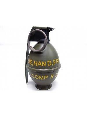 Big Dragon M26 Grenade Type Airsoft Gas Charger Green