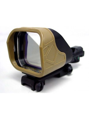 Rambo SP-6 1x66 Open Red Green Dot Sight Reflex Tan