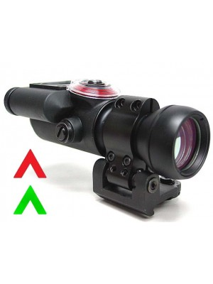 Airsoft 30mm TriPower TX30 Style Red/Green Chevron Scope Sight